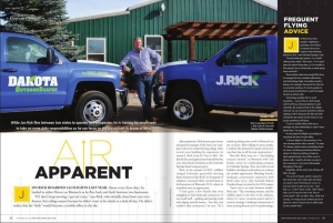 Dakota OutdoorScapes featued in the October 2015 Lawn & Landscape Magazine