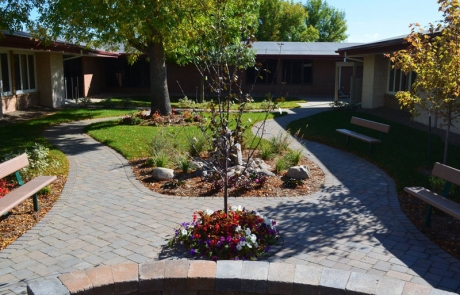 MSLCC Award Winning Courtyard Refinish